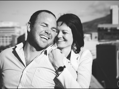The heart of Cape Town - Lelanie & Conrad Engaged