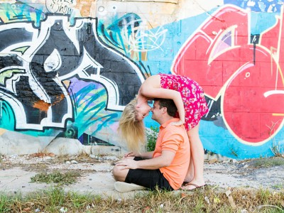 Bo-Kaap & Sea Point Engagement shoot - Brian & Janine