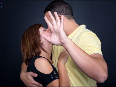 Romantic Studio couple shoot