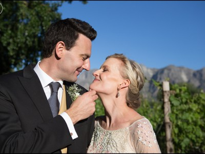 Banhoek Valley Zorgvliet Wedding - Tom & Tara