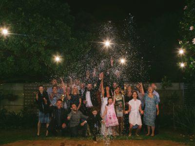 Candle Light Wedding - Nic & Rene