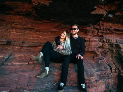 Chapmans Peak Cave Engagement - Jacques & Zahn